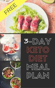 Eat Keto Everywhere - Get Our Free 3 Day Keto Meal Plan Book For Health & Weight Loss + weekly recipes, straight to your inbox.